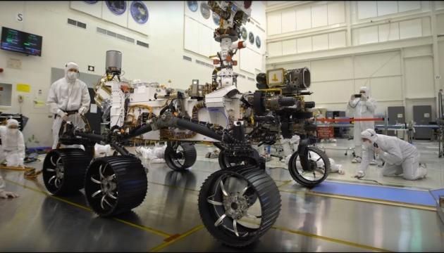 У NASA показали тест-драйв нового марсоходу