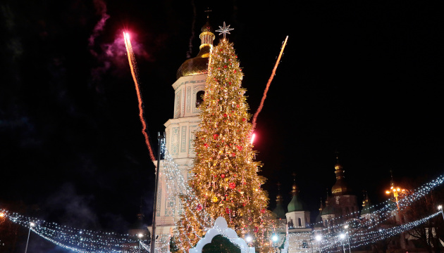 Le sapin de Noël de Kyiv fait partie du Top-5 des plus beaux sapins d'Europe
