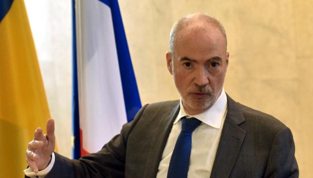 Embajador: Francia implementa varios proyectos en Ucrania