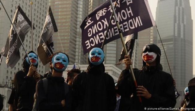 У Гонконзі розігнали першу акцію на підтримку уйгурів