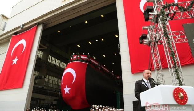 У Туреччині спустили на воду нову субмарину