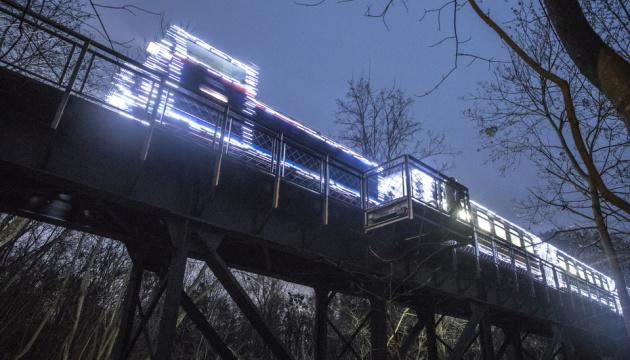 Детская железная дорога в Сырецком парке не уходит на новогодние каникулы