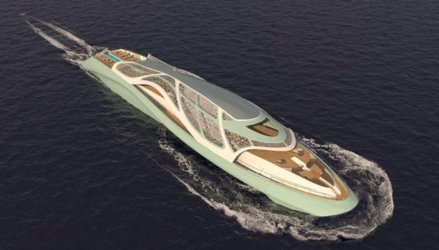 Італійська дизайнерка показала концепт яхти-субмарини