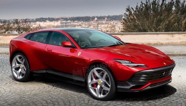 Ferrari розробляє свій перший кросовер