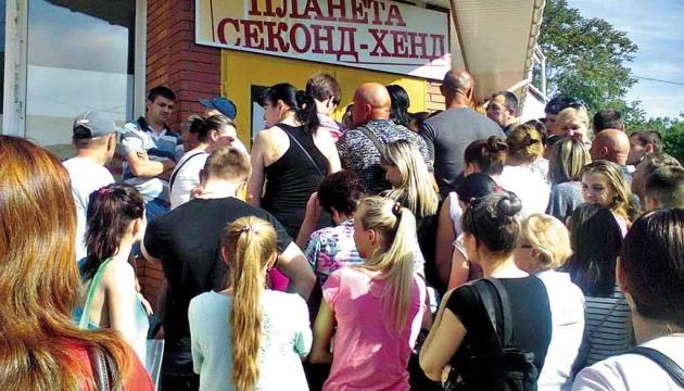 Торік в Україну завезли понад 120 тисяч тонн секонд-хенду