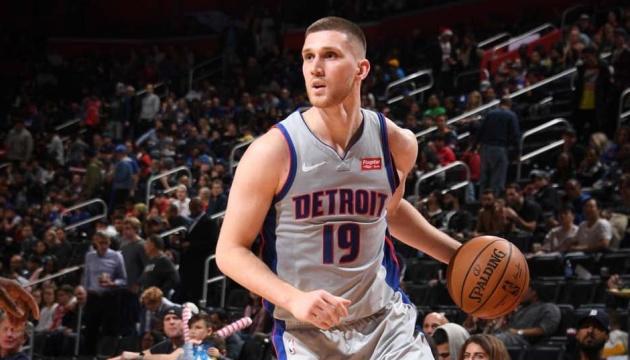 """Михайлюк помог """"Детройту"""" разгромить """"Вашингтон Уизардс"""" в матче НБА"""