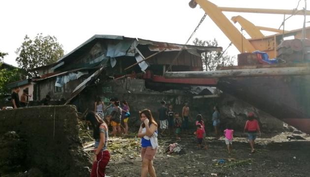 Кількість жертв тайфуну на Філіппінах зросла до 41