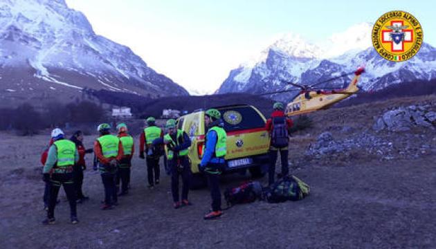 В італійських горах загинули троє альпіністів