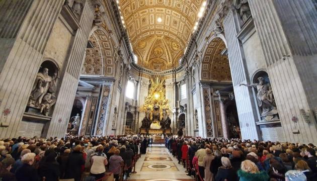 У Ватикані відбулася традиційна різдвяна проща українців до папської базиліки святого Петра