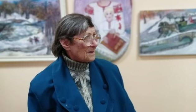 Виставка 91-річної народної художниці Олени Рибальченко відкрилась у Херсоні