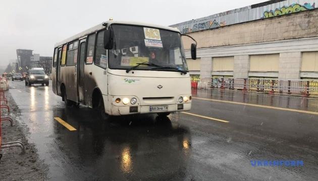 Через Шулявський міст пустили автобуси