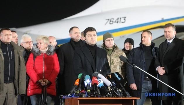 Шість осіб, яких Україні повернули, залишилися на непідконтрольній території