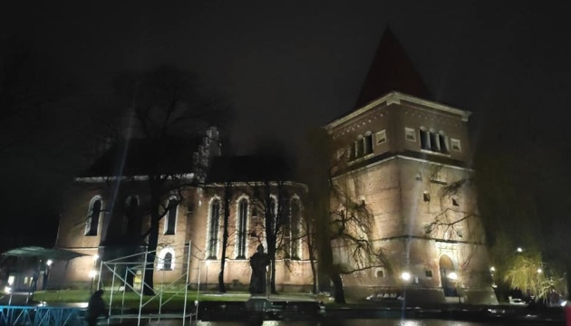 У Дрогобичі засяяли пам'ятки архітектури