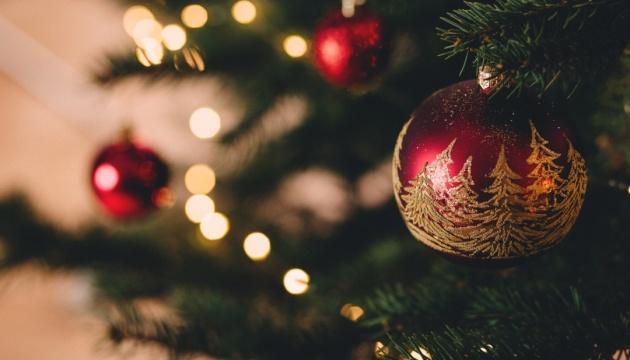 Великий різдвяно-новорічний пішохідний маршрут Києва. Інфографіка