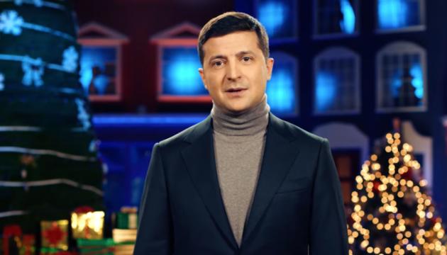 Zelensky félicite les Ukrainiens à l'occasion de Noël