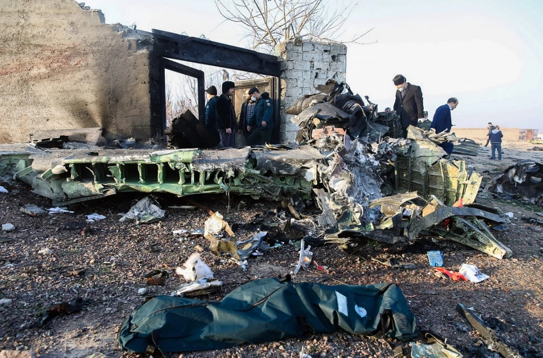 Катастрофа літака МАУ в Ірані / Фото: АА