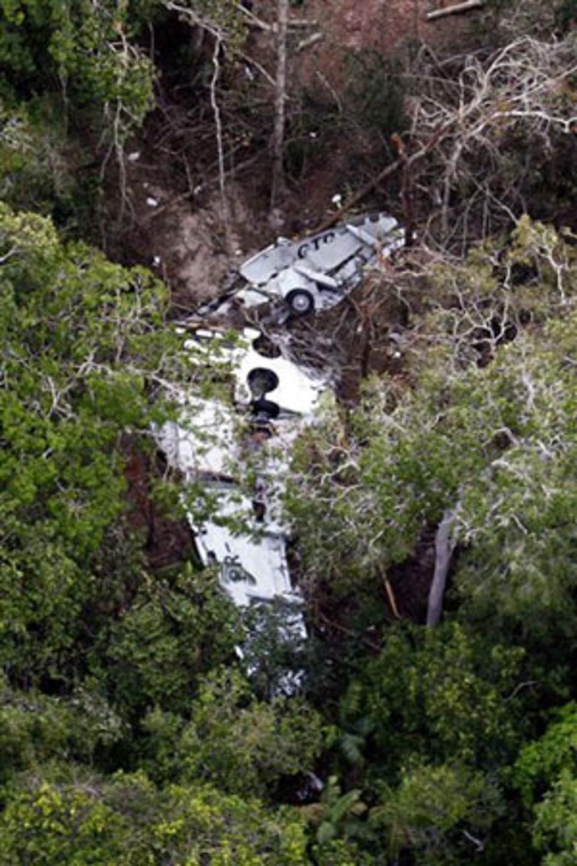 Boeing впав у важкодоступному районі Амазонії