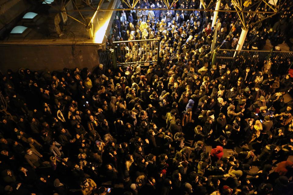 Протести в Тегерані / Фото: АА