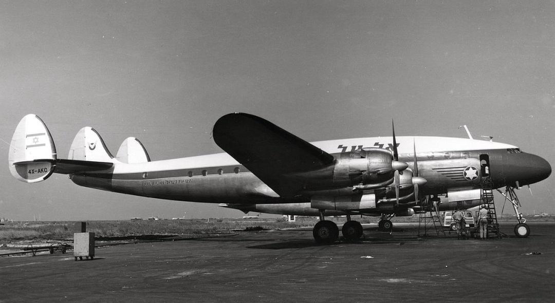 Lockheed L-049 Constellation за чотири роки до збиття