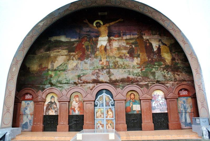 Іконостас Свято-Георгіївської церкви в с. Пляшева