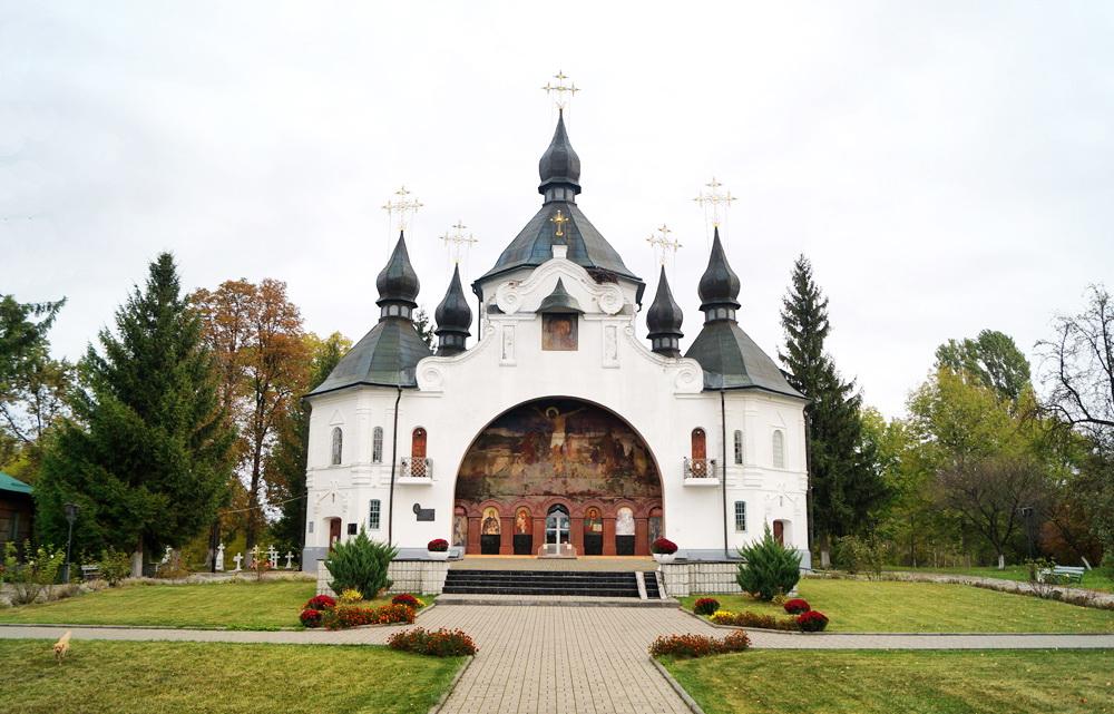Свято-Георгіївська церква в с. Пляшева