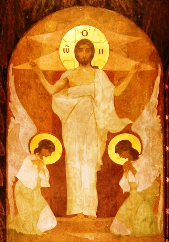 Воскресіння Ісуса Христа, Трапезна церква Києво-Печерської Лаври, 1900- рр.