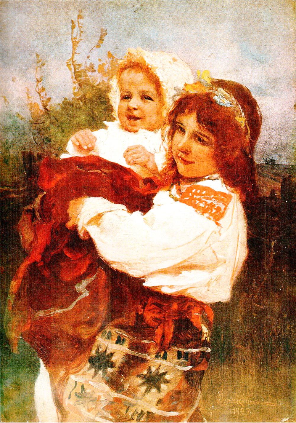 Мати йде, 1897 р.