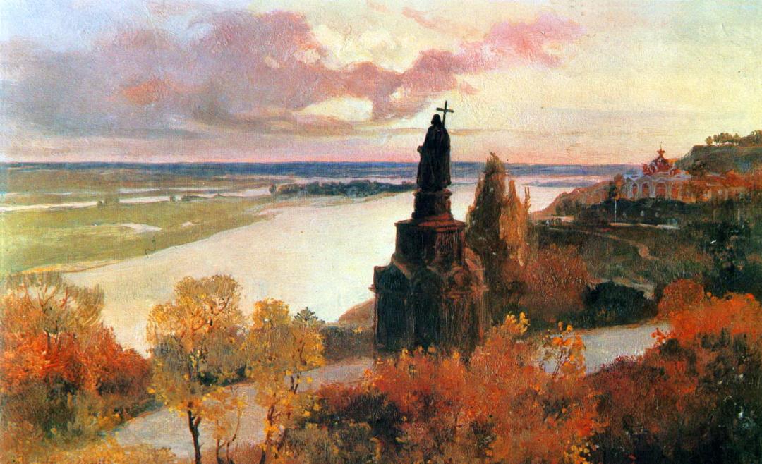 Володимирська гірка, 1913 р.