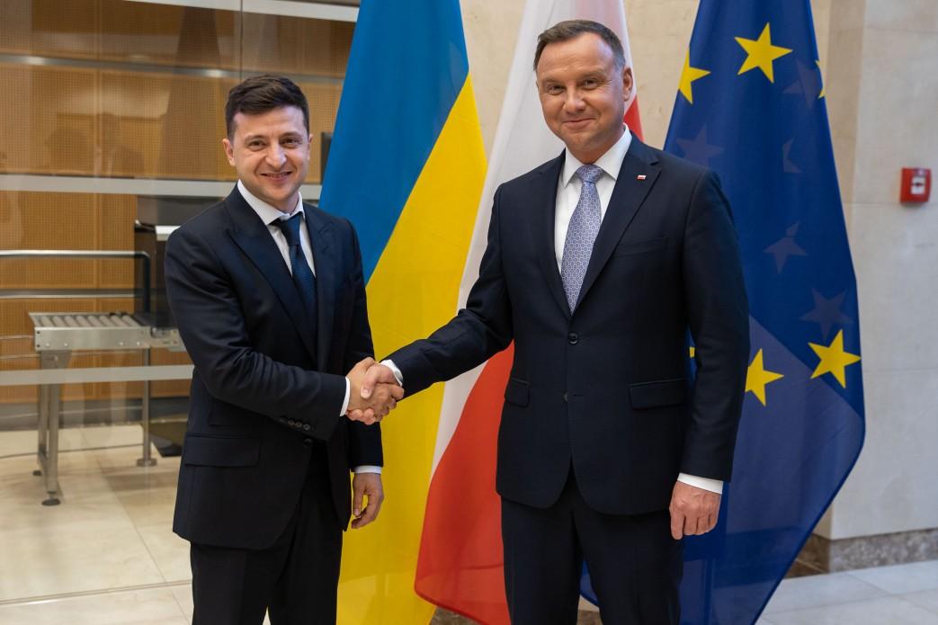 Wołodymyr Zełenski i Andrzej Duda / Zdjęcie: Biuro Prezydenta