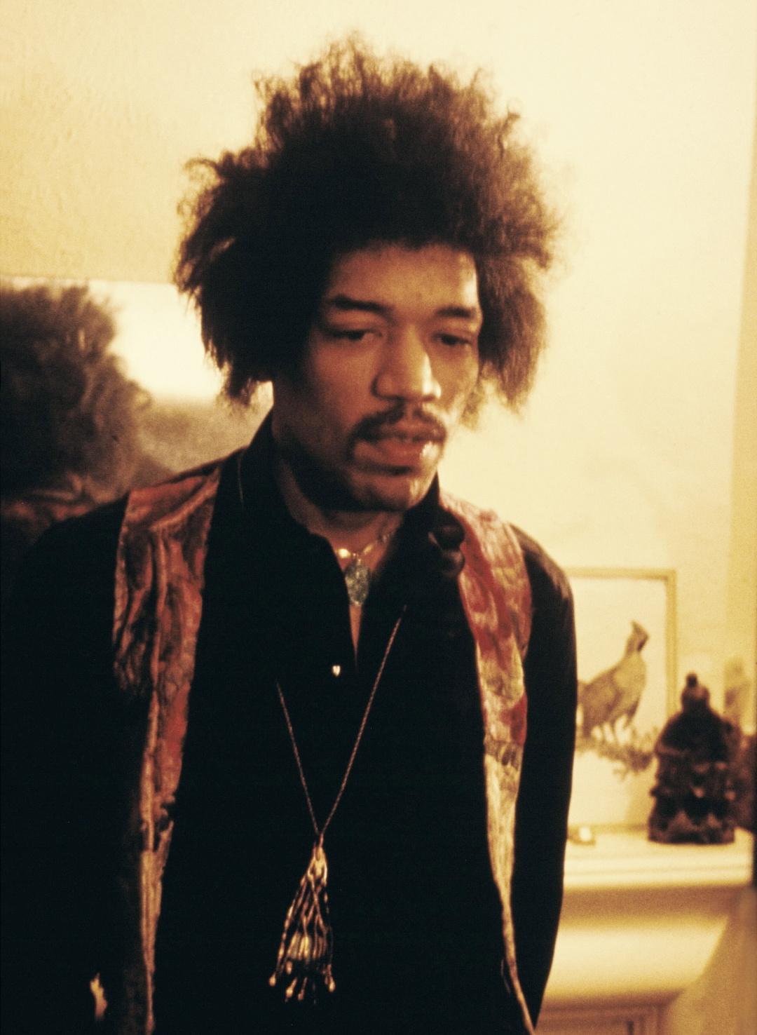 Джими у камина, 7 января 1969 г.
