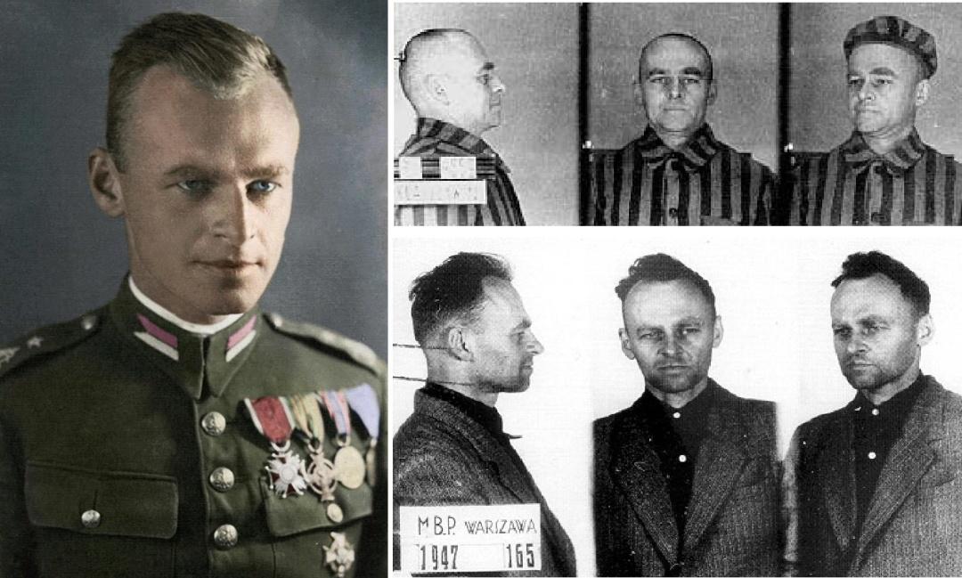 Вітольд Пілецький - під час ув'язнення в Освенцимі та комуністичній Польщі