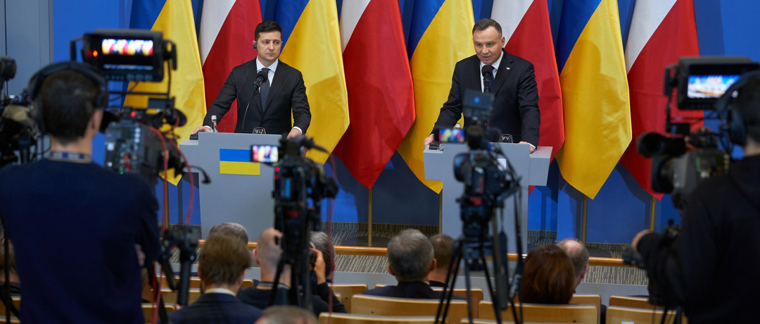 Wołodymyr Zełenski, Andrzej Duda / Zdjęcie: Biuro Prezydenta