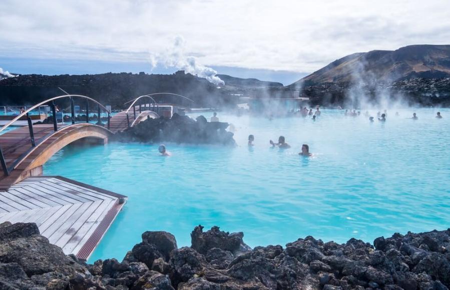 Ісландія Геотермальний курорт в Ісландії