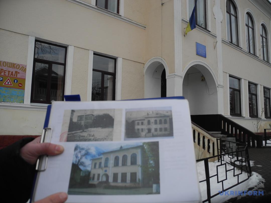 Польський народний дім, а зараз школа