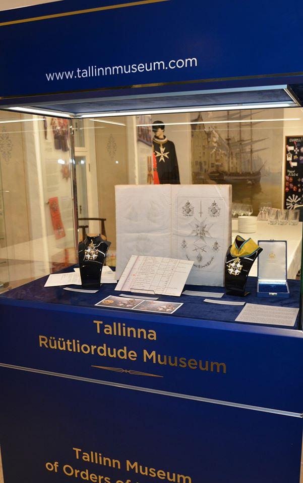 Експозиція Талліннського музею лицарських орденів, яка розповідає про унікальну історію створення Ордену Меча для колекції Національного заповідника