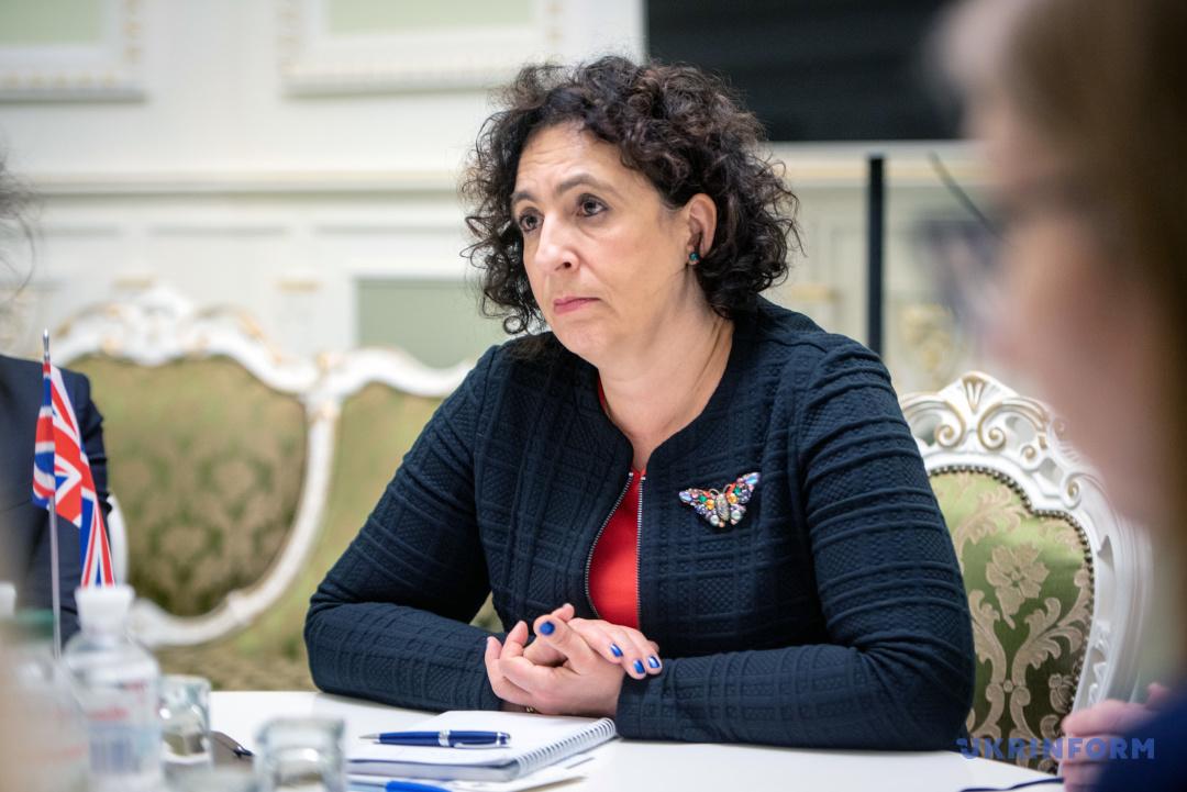 Посол Великої Британії в Україні Мелінда Сіммонс