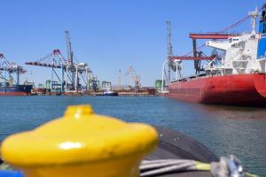 Порт «Южний» забезпечив у травні рекордну перевалку вантажів