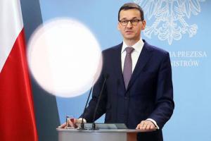 Моравецкий: Масштабы агрессии во время протестов в Польше необоснованны