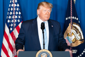 Трамп скептично сприйняв рішення Байдена щодо віцепрезидента