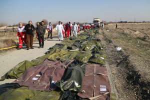 Identification of bodies of Ukrainians killed in UIA plane crash completed