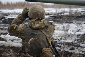 Invaders fire artillery, mortars in Donbas. One Ukrainian soldier wounded
