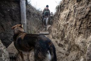 Окупанти чотири рази порушили «тишу», під Красногорівкою працював міномет