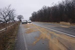 Дорожники попереджають водіїв про туман та мокрі дороги
