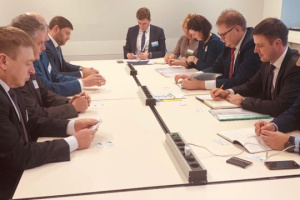La delegación ucraniana participa en la Semana Verde en Berlín
