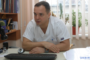 Serhiy Shypilov, chief of surgical clinic at Kharkiv Hospital