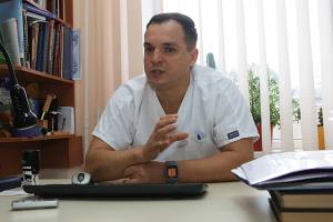 Харківський шпиталь отримав нове обладнання для малоінвазивних операцій