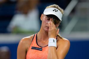 ヤストレムシカ、決勝で敗退 女子テニス