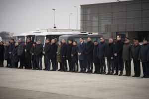 Керівництво держави висловило співчуття родинам та близьким жертв авіакатастрофи в Ірані