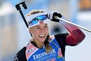 Норвежка Екгофф виграла персьют на V етапі Кубка світу з біатлону; Семеренко - восьма