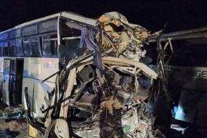 На півдні Алжиру зіткнулися два автобуси, 12 загиблих, 46 поранених